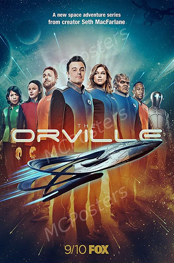 Amazon.com: MCPosters The Orville TV Show Series Poster GLOSSY ...