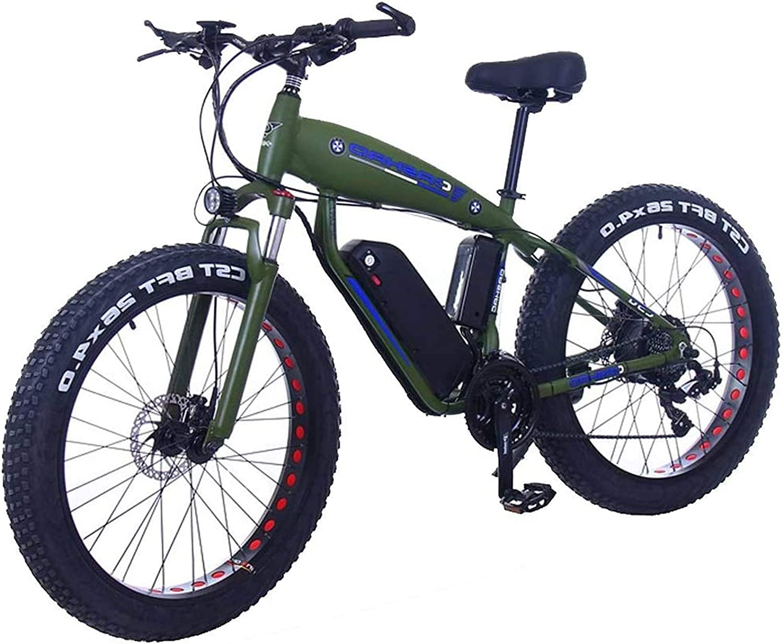 Bici electrica, 26inch Fat Tire Bicicleta eléctrica