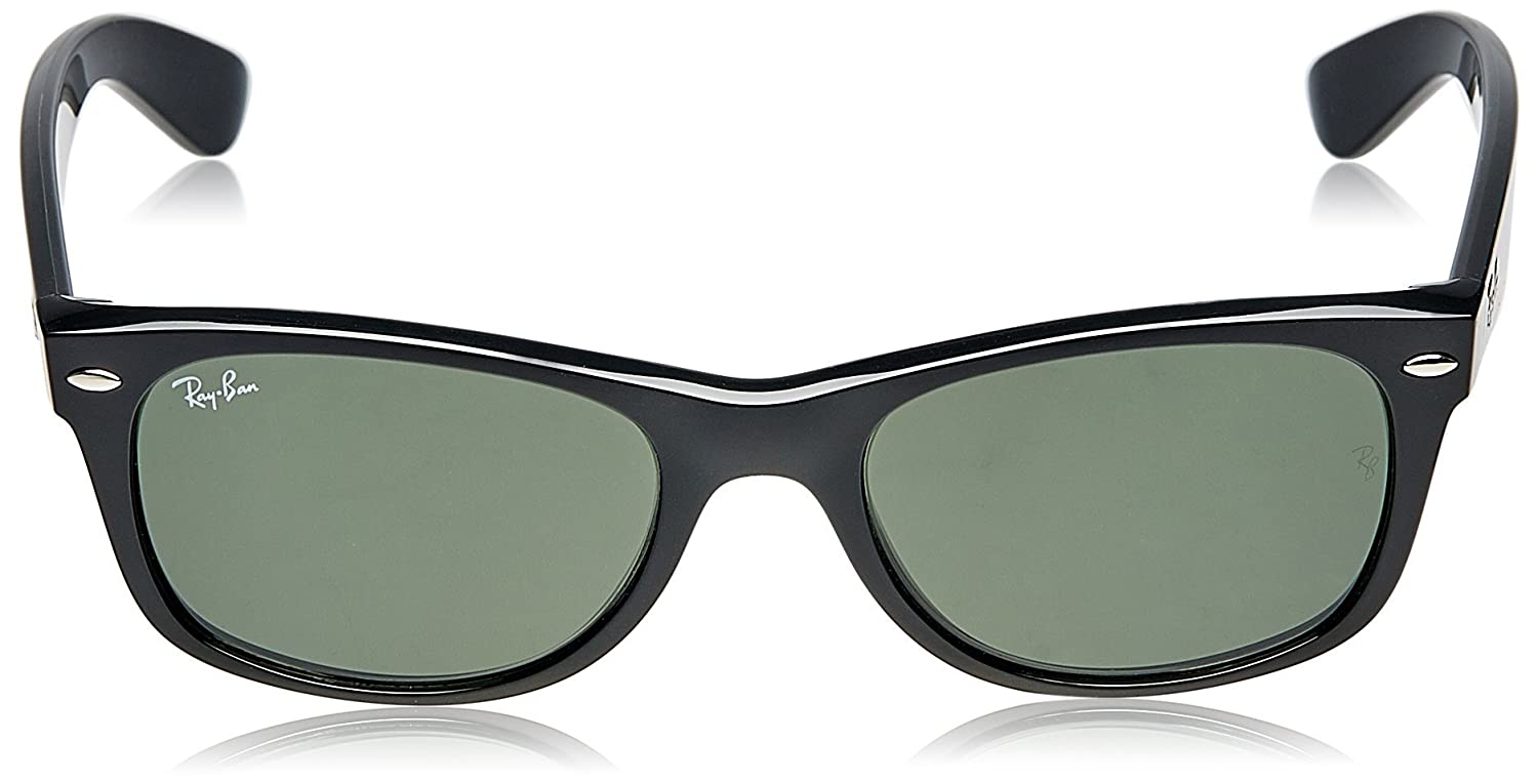 9e04811a1b5 Ray-Ban NEW WAYFARER - BLACK Frame CRYSTAL GREEN Lenses 52mm Non-Polarized  Health