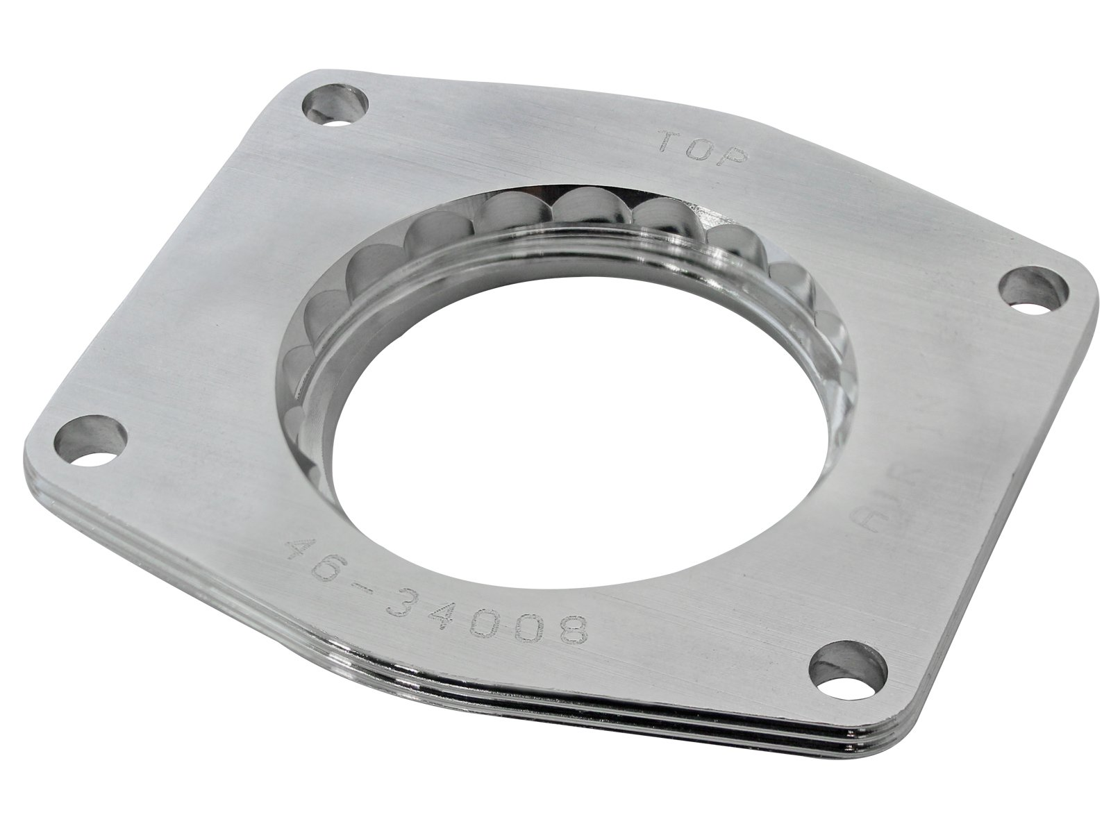 aFe Power Silver Bullet 46-34008 GM Throttle Body Spacer by aFe