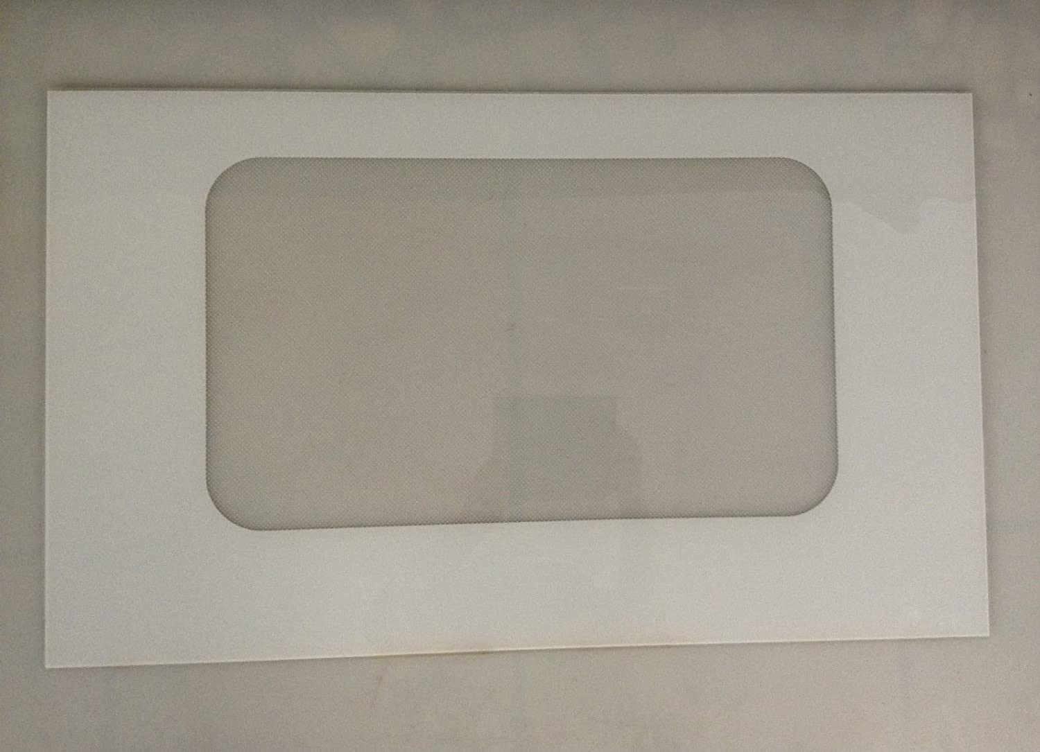 GE Part Number WB57T10160 GLASS OVEN DR OTR (WHITE) by GE  B0093QZV3I