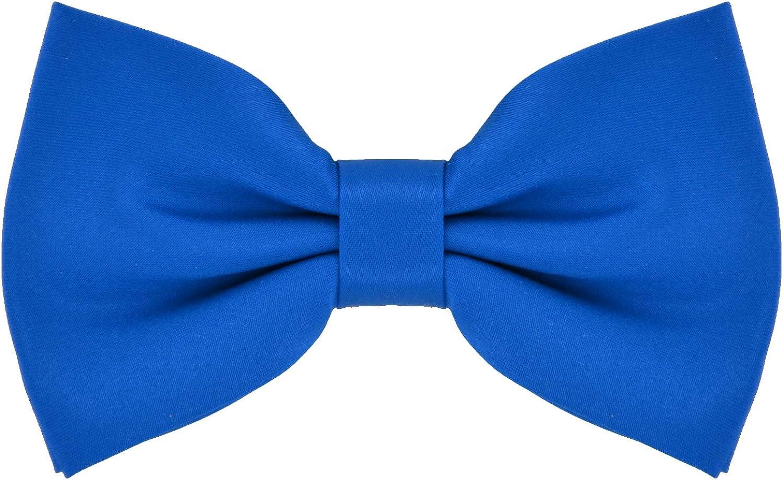 DonDon pajarita corbatín azul ya atado ajustable: Amazon.es: Ropa ...