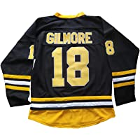Mens Boston Happy Gilmore 18 Adam Sandler 1996 Movie Ice Hockey Jersey Stitched