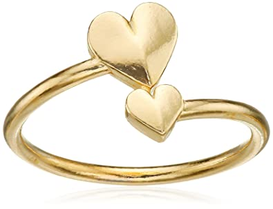 Alex And Ani U0026quot;Valentineu0027s Day Collectionu0026quot; Romance Heart Wrap Gold  Plated Ring,