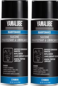 Yamaha ACC-SLCNS-PR-AY Silicone Spray Protectant & Lubricant, Pack of 2
