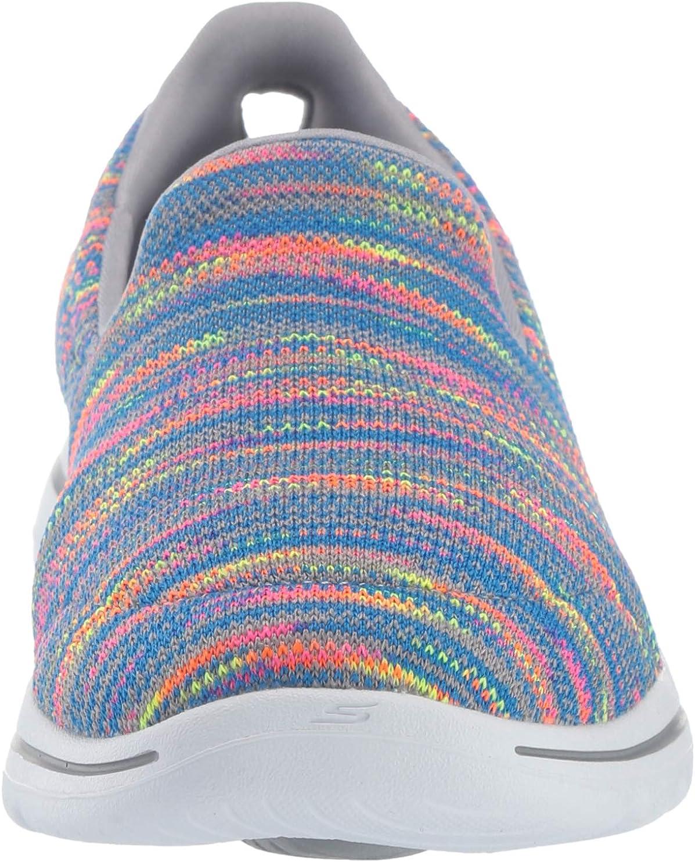 Skechers Women's Go Walk 5-15912 Sneaker Gray/Multi