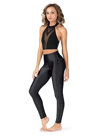 16b2bba10 Natalie Dancewear Adult High Waist Leggings N8642 at Amazon Women's ...