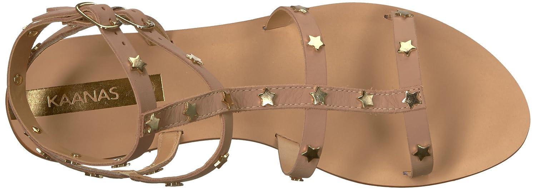 KAANAS Women's Lapa Embellished 11 Gladiator Flat Sandal B077JGJ69L 11 Embellished B(M) US|Nude b4c8a7