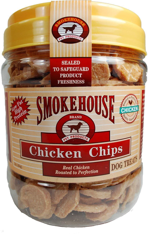 Smokehouse Chicken Chips Dog Treats, 1 Pound, 6 Pack