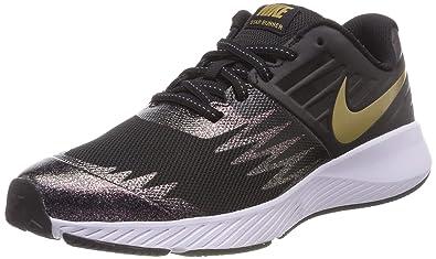 more photos 0011b 40b69 Nike Star Runner SH (GS), Chaussures de Running Fille, Multicolore (Black