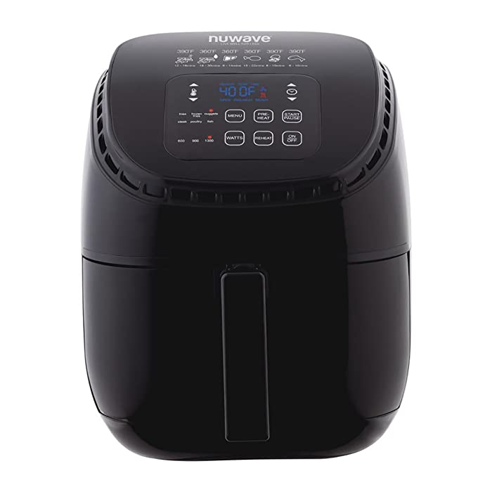 Nu Wave 36011 Air Fryer 3 quart Black