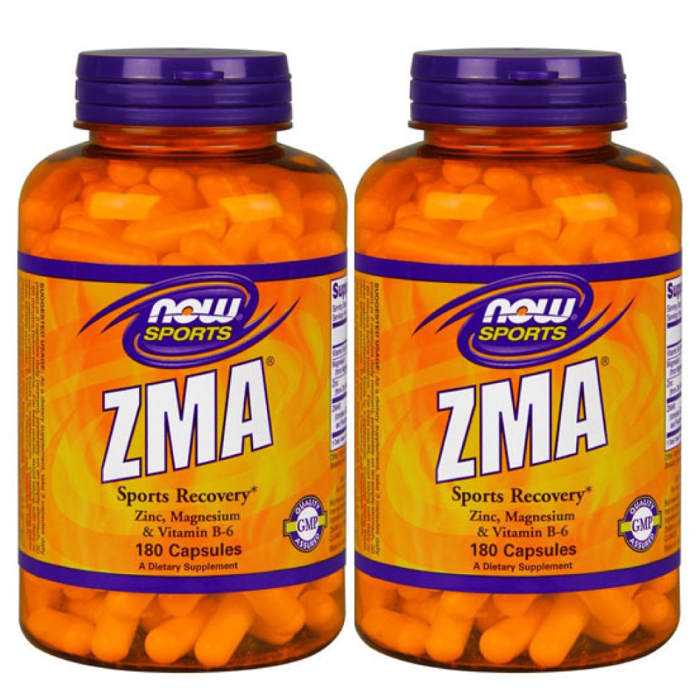 【3個セット】[ お得サイズ ] ZMA 180粒 [海外直送品] B01JOA7RFW 3個  3個
