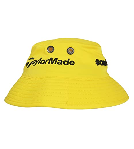 e56cc793e NEW TaylorMade Rocketbladez/One Bucket Yellow Fitted L/XL Bucket Hat ...
