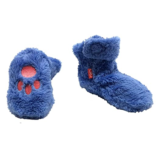 28d2fa998 Amazon.com  Magnetic Me Baby So Soft Minky Fleece Magnetic Booties ...