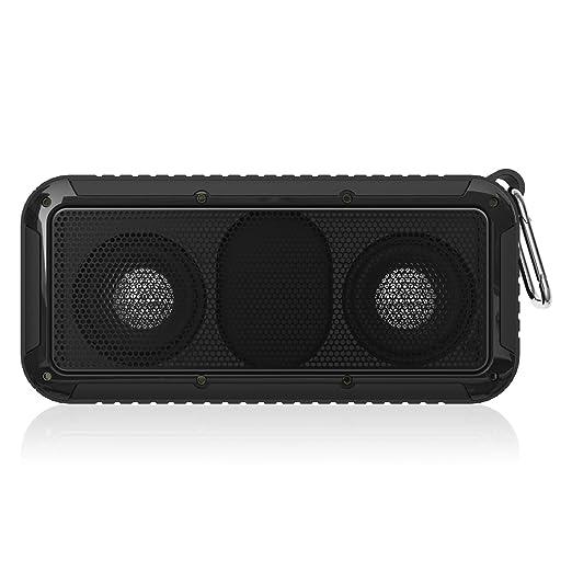 2 opinioni per Meeaja senza fili Bluetooth 4.0 Portable Sport IP67 impermeabile & Built-in Mic