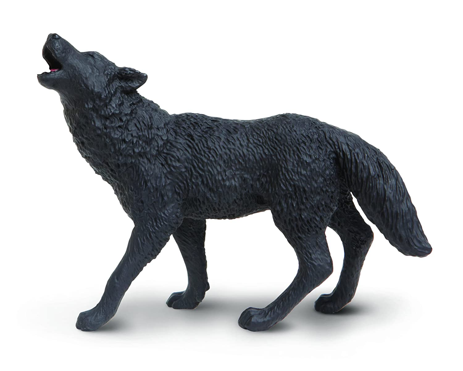 Safari Ltd Wild North American Wildlife Black Wolf 181129