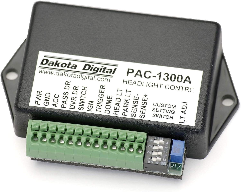 dakota digital motorcycle wiring diagram amazon com dakota digital pac 1300 retained acc power w  amazon com dakota digital pac 1300