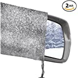 Side View Mirror Covers. Universal Side Mirror Cover Snow Ice and Frost Protection. 2 Pack Car Mirror Cover by Outback Shades. Extreme Products for Extreme Environments