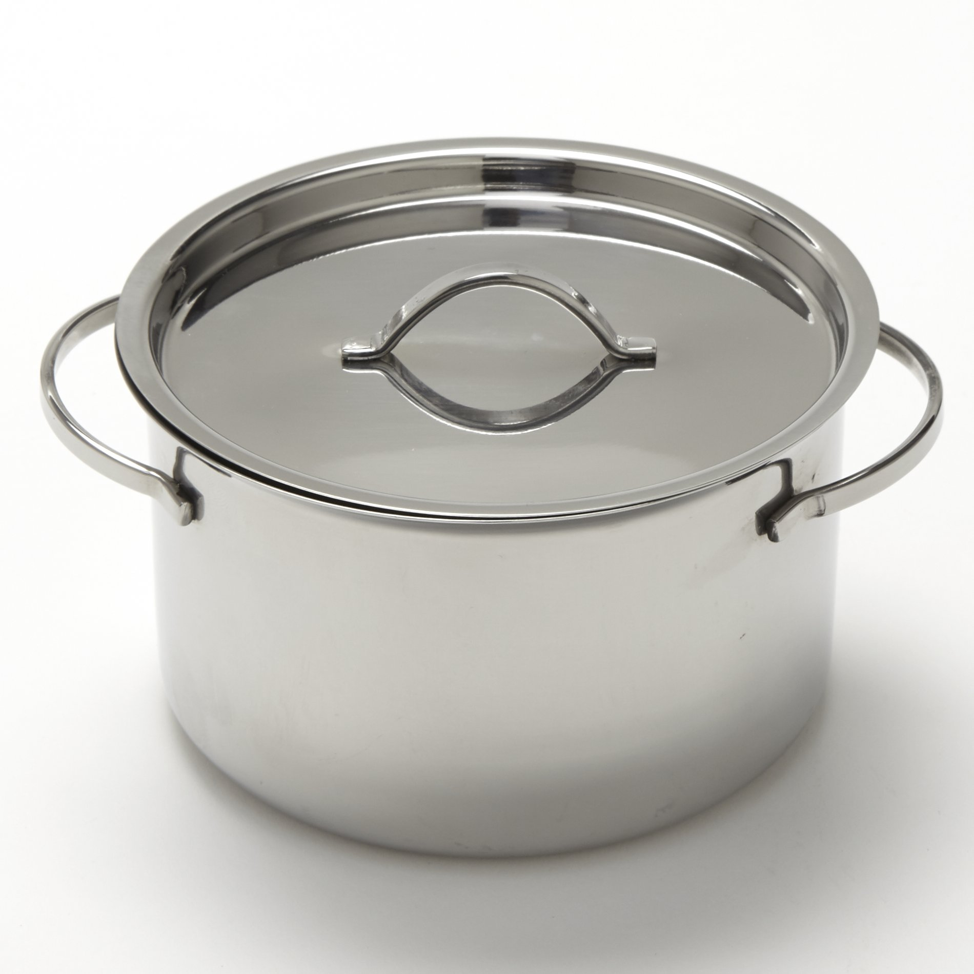 American Metalcraft MPL24 Stainless Steel Mini Pot with Lid, 24 oz.