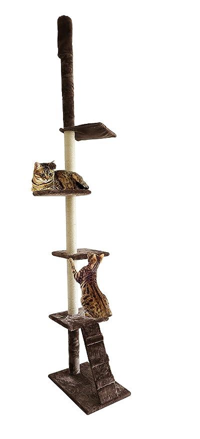 Furhaven Tiger Tough Cat Ladder Playground Menalmeida