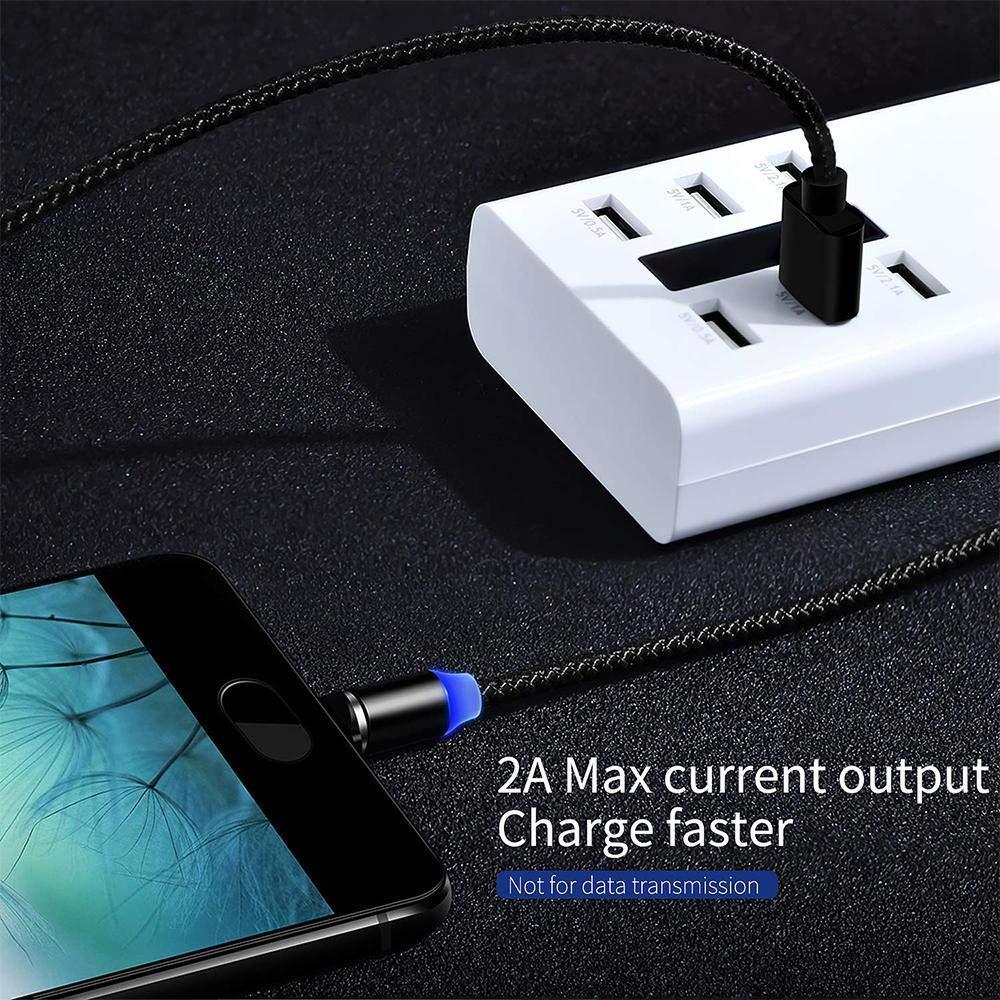 Sliwei Cable de Carga Tel/éfono m/óvil Micro USB Tipo C Cable de Carga Micro USB magn/ético Accesorios