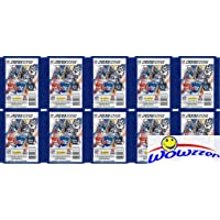 $24 » 2019 Panini NFL Football Stickers Collection of 10 Factory Sealed Sticker Packs with 50 MINT…