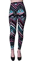 VIV Collection Updated Best Selling Popular Printed Brushed Buttery Soft Leggings Regular and Plus 40+ Designs List 4