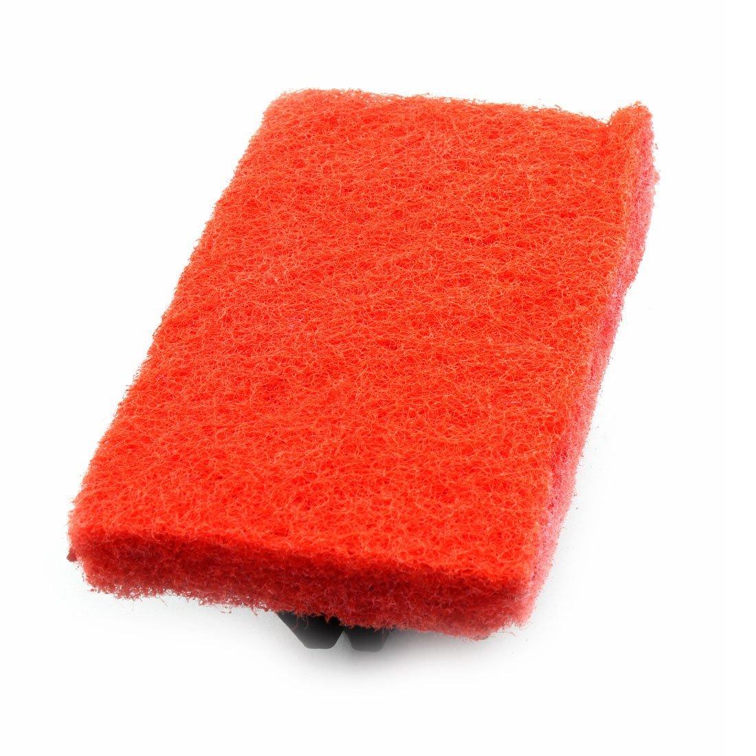 Amazon.com: eDealMax plástico la cocina casera de la manija de la esponja cepillo más limpio de limpieza con herramienta Rojo: Kitchen & Dining