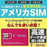 アメリカSIM 10日間【使い放題】高速データ通信/通話/SMS/テザリング(インターネット無制限使い放題)SIMカード アメリカ ハワイ