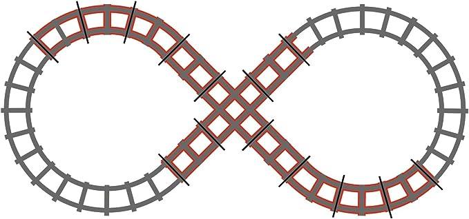 Peg Perego Zug Schienen Erweiterungsset