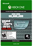 Grand Theft Auto Online | GTA V Megalodon Shark Cash Card | 8,000,000 GTA-Dollars | Xbox One Download Code