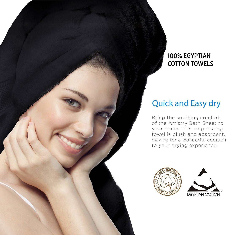Dry Hair Cap,Jsutime Superfine Fiber Soft Towel Bath Head Wrap Turban Set of 2PCS,blue and rose