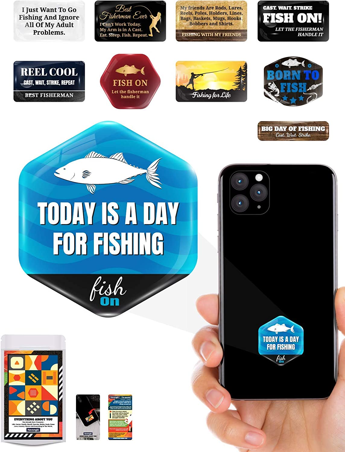 My Friends are Rod Lures Reel Pole Holder Bass Magnet Bag Basket Shirts Havongki Fishing Premium 3D Clear Dome Stick Accessories for Gifts Cell Phone Case for Men Dad Grandpa and Boyfriend 0398