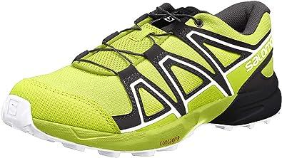 Salomon Speedcross J, Zapatillas de Trail Running Unisex Niños, Verde (Acid Lime/Lime Green/White), 38 EU: Amazon.es: Zapatos y complementos