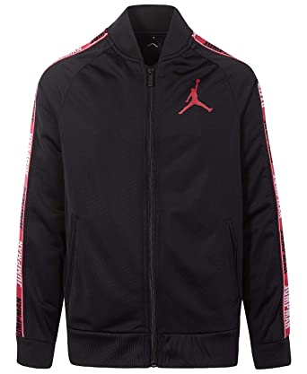 760aba4e869ee0 Amazon.com  Jordan Air Boys Youth Legacy Tricot Jacket Size M