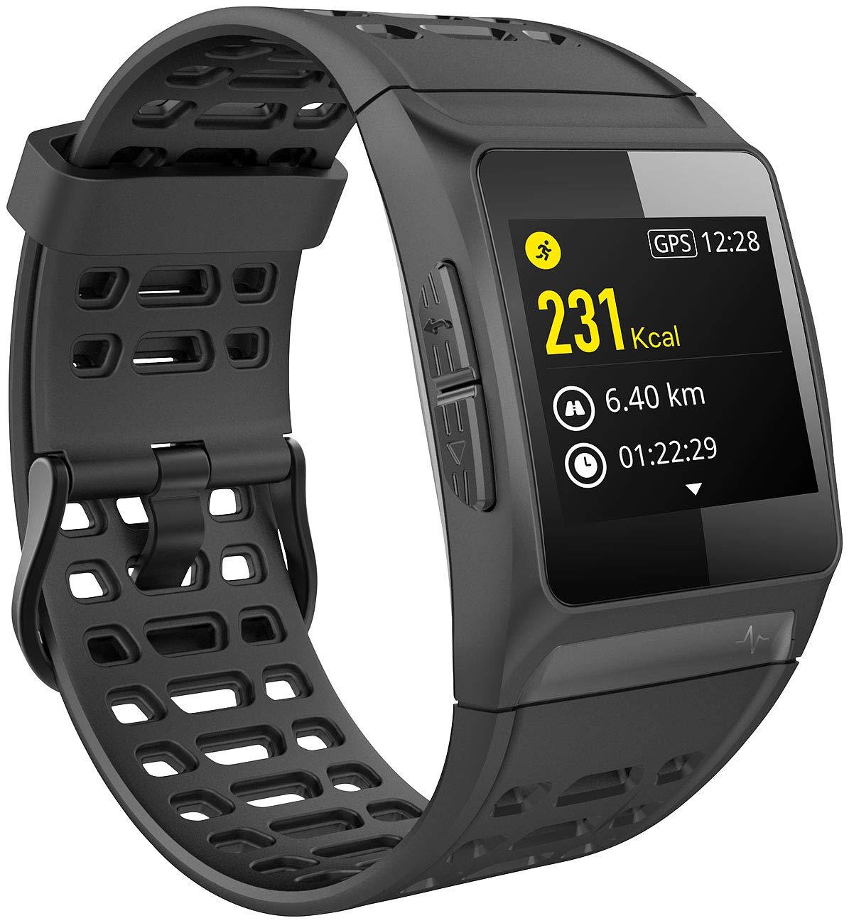 Montre de sport avec récepteur GPS intégré SW-250.hr: Amazon.fr: Sports et Loisirs
