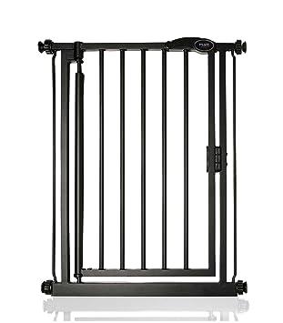 Safetots Extra Tall Premium Pressure Matt Black Child and Pet Gate Extensions