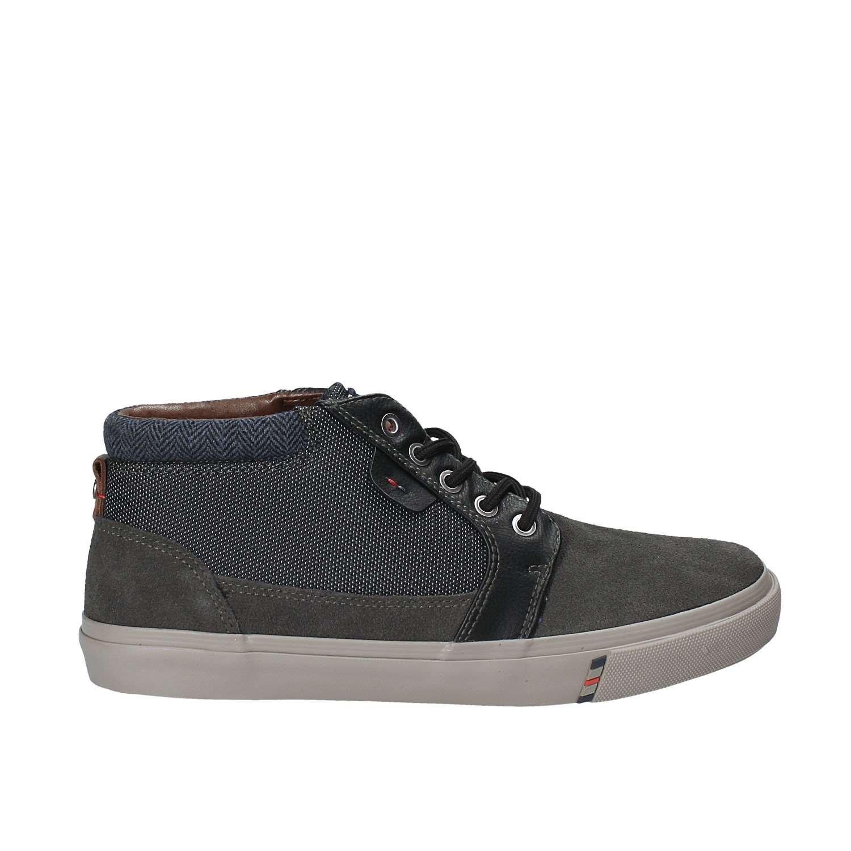 Wrangler WM172130 Hoch Sneakers Herren Grau