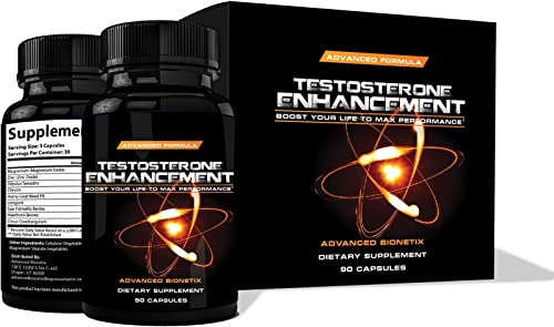 1 Recommended by Men Over The Age of 40* Testosterone Booster Male Enhancement. Increase libido, Energy, Lean Muscle. Melt Away Fat.