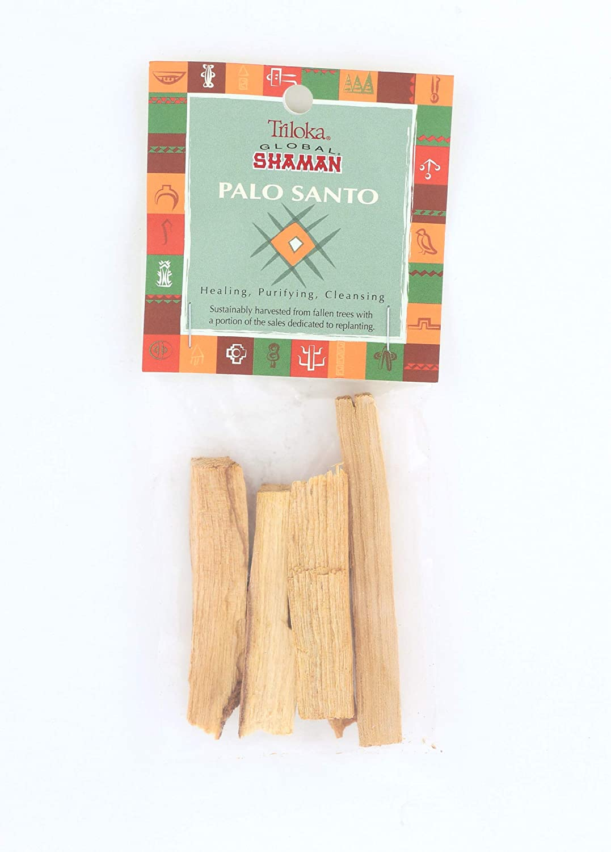 Triloka Global Shaman Palo Santo Wood Incense Windrose Trading Company