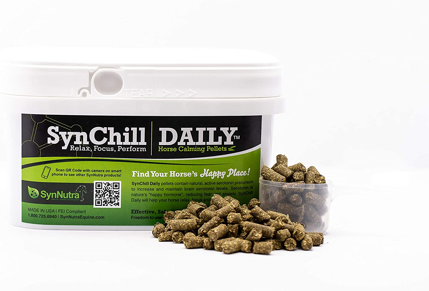Synnutra SynChill Daily Pellets 30DAY