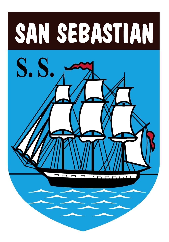 Artimagen Pegatina Escudo San Sebasti/án 40x60 mm.