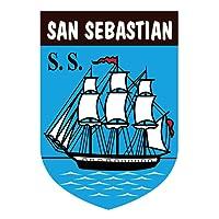 Aufkleber Wappen San Sebastian