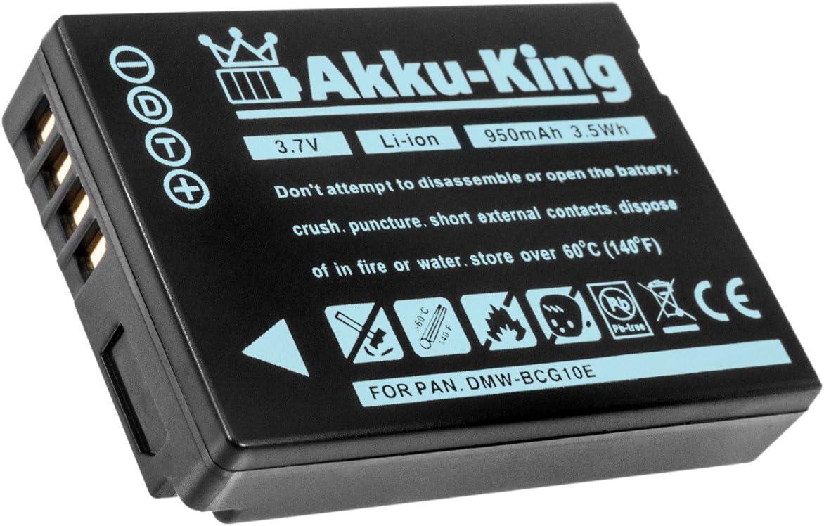 Akku King Akku Kompatibel Mit Panasonic Dmw Bcg10e Kamera