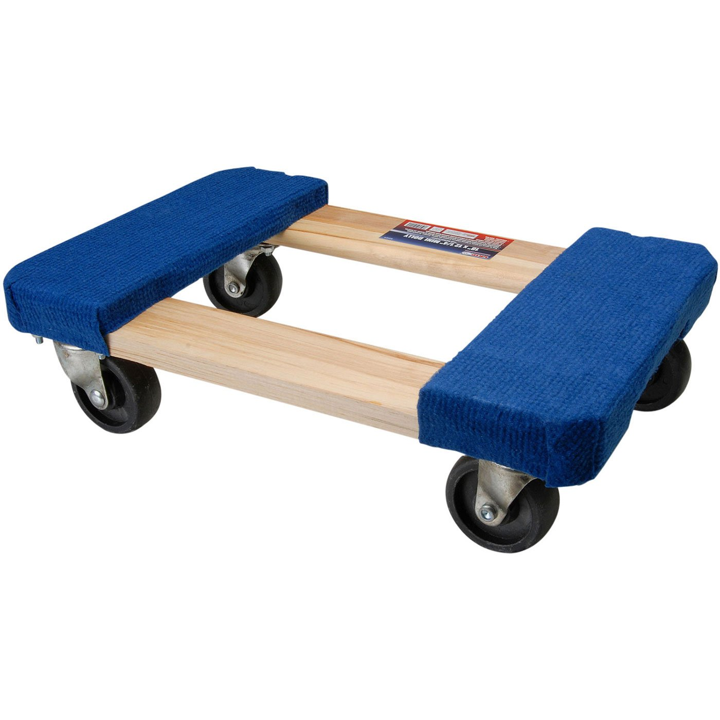 GRIP 52024 18'' x 12'' Carpeted Movers Dolly by Grip