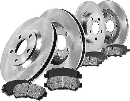 Rotors Metallic Pads F OE Replacement 2002 Ford F-150 4WD w//5 Lug Rotor
