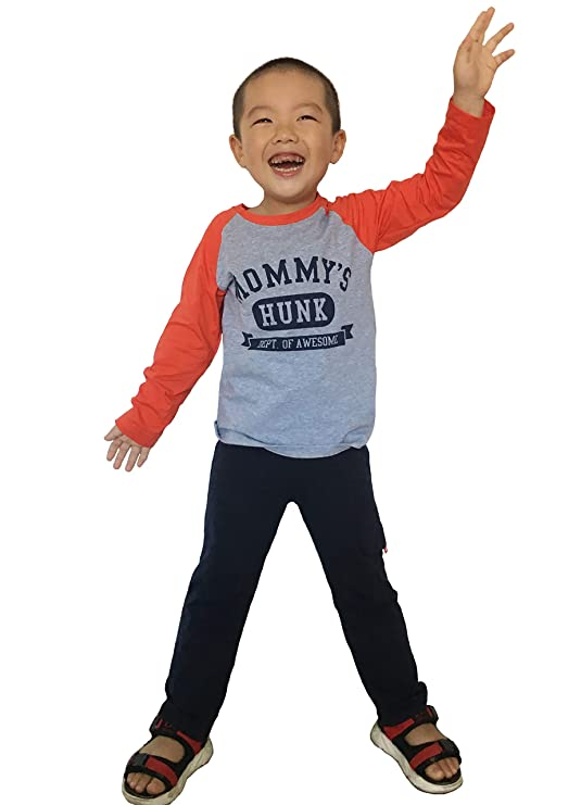Coralup Unisex Toddler Boys Girls Long Sleeve Cotton Clothing Sets 18M-8 Years
