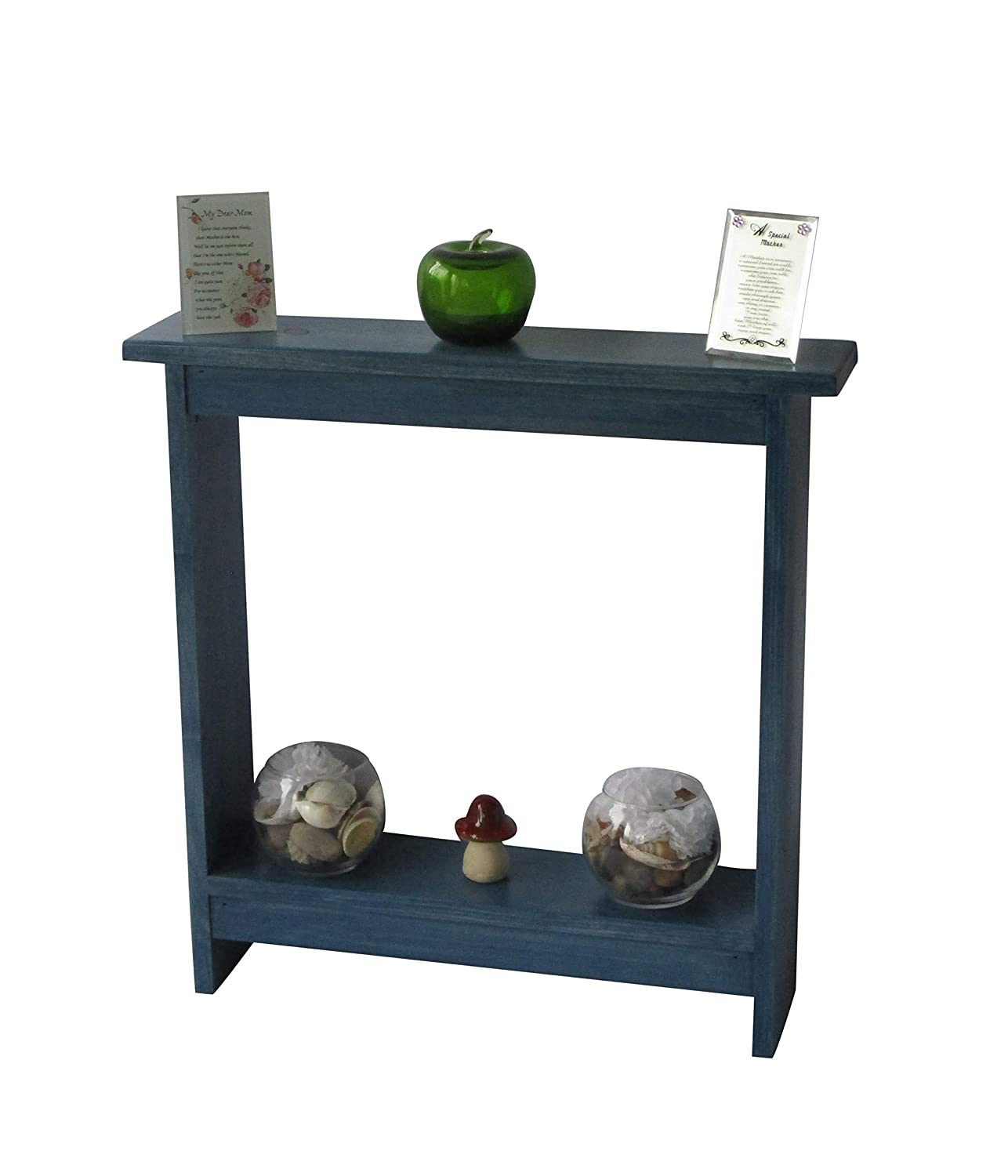 - Amazon.com: Narrow Console Table Rustic Accent Table Small