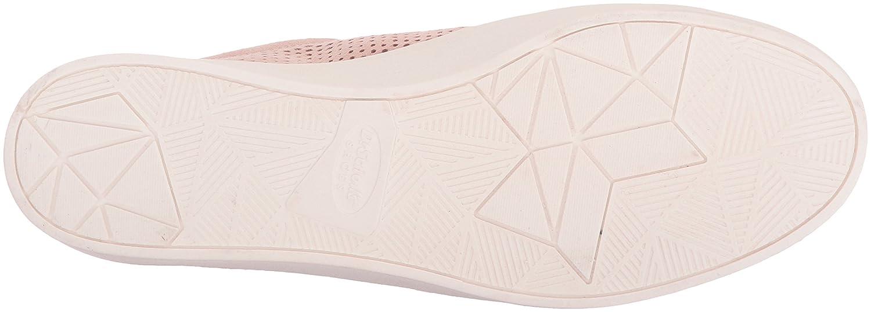 Dr. Scholl's Women's Kinney Lace Sneaker B074ZZVCQY 6 B(M) US|Blush Microfiber