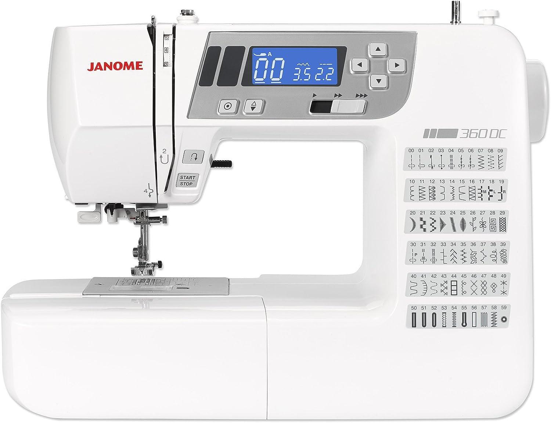 Janome Decor Computer 360 QDC Máquina de coser: Amazon.es: Hogar